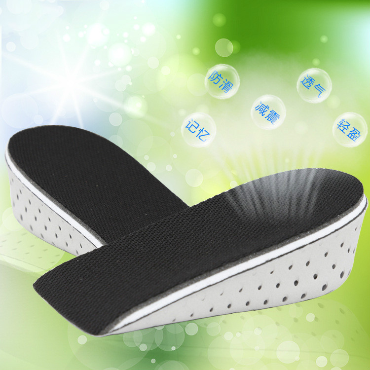 2017 Unisex memory of the cotton padded mattress pad and Increase Height High in the shoe Inserts Cushion Pads half insoles