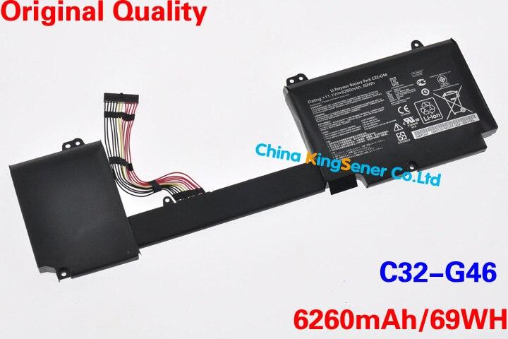 ФОТО 11.1V 69WH Genuine New Laptop Battery G32-G46 for ASUS G46 G46V G46VW Ultrabook C32-G46 6260mAh