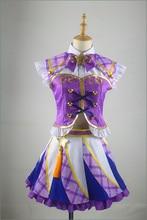 Anime Aikatsu Stars Ran Shibuki Cosplay Costume Custom Made Any Size