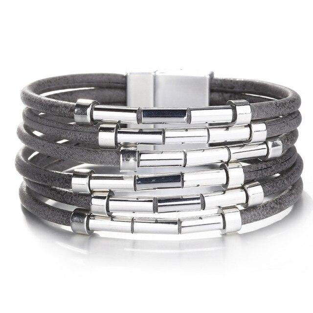 ALLYES Leather Bracelets...
