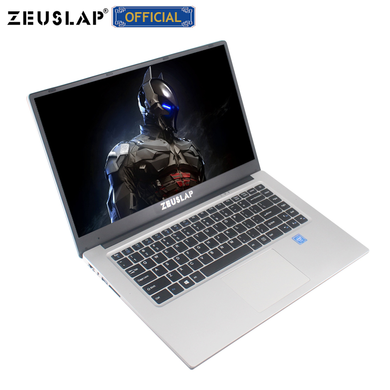 ZEUSLAP New 15.6inch 1920*108P IPS Screen Intel Celeron 6GB Ram Win 10 Fast Boot Cheap Netbook Laptop Notebook Computer
