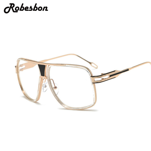 62561d961b3 2018 New Fashion Men Oversized Frame Optical Glasses Frames Women Classic  Optical Eyeglasses Frames Women Best