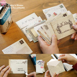 12pcs set new vintage paper envelopes style ancient gift letter pad pack office school supply mini.jpg 250x250