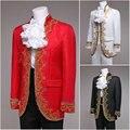1860 S victoriano / Civil War negro / blanco mens trajes de época Medieval funcionamiento de la etapa renacentista / príncipe encantador William