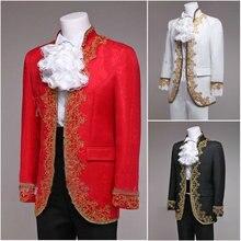 1860 S викторианской/Гражданская война черный/белый мужские наборы Средневековый Ренессанс для выступления/принц Уильям