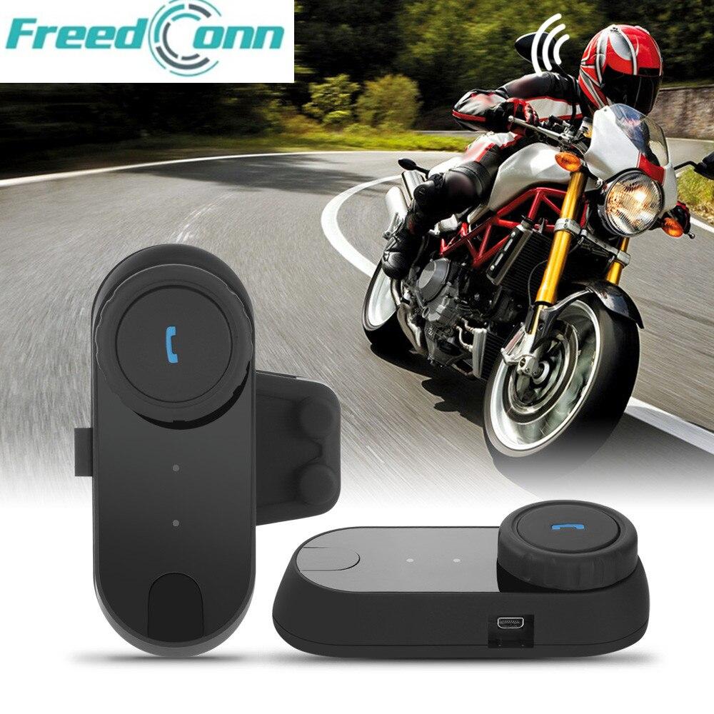 FREEDCONN TCOM-02 Motorrad Helm Kommunikation Kit Motocross Helm Bluetooth Headset für Full Face Helm Keine intercom