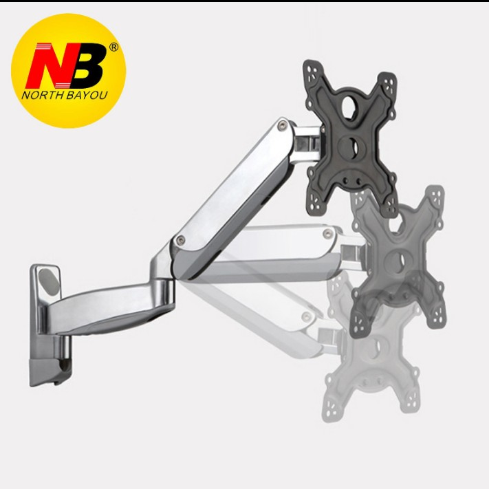 NB UF500 Gas Spring 42 55 inch LED TV Wall Mount Monitor Holder Ergonomical Mount Max