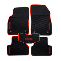 Genuine Dedicated Front Rear Floor Slip Resistant Rubber Mats For Chevy Cruze