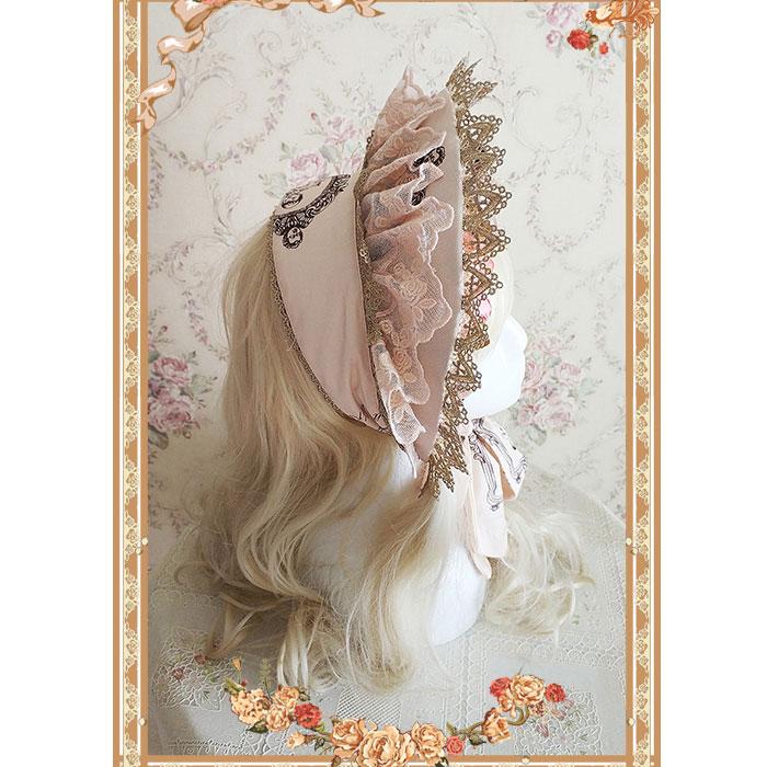 Doll House Sweet Lolita Half Bonnet by Infanta
