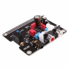 Big discount Gasky HIFI DAC Audio Sound Card Module I2S Interface For Raspberry Pi B+ 2 B DIY Black