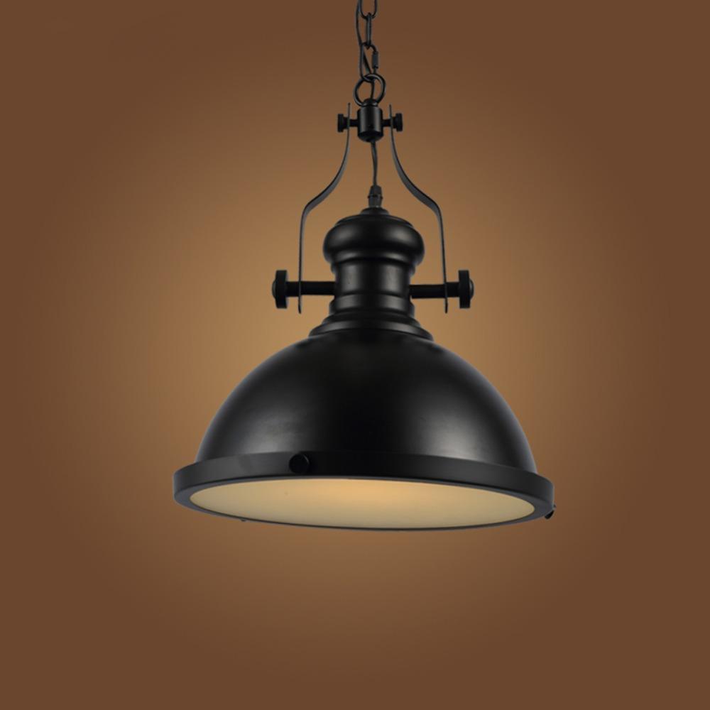 Edison lampen lampen 110 v 250 v ac d32cm metall pendelleuchten moderne weiß schwarz
