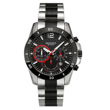 New Sekonda Cool Stainless Steel Sports Military Quartz Watches Waterproof Wrist Mens Watches