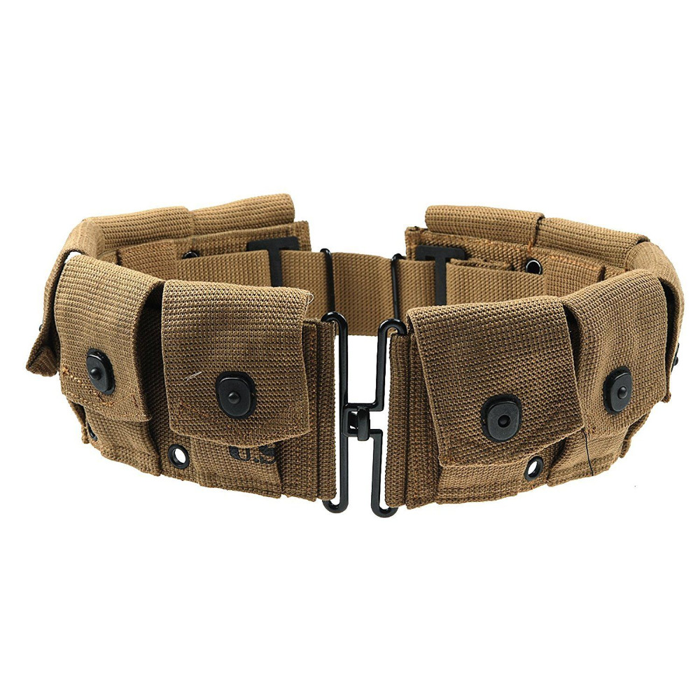 Camping & Hiking Flight Tracker Ww2 Us Army Equipment M1928 Bag Belt First Aid Kit And 0.8l Kettle X Type Straps Spade