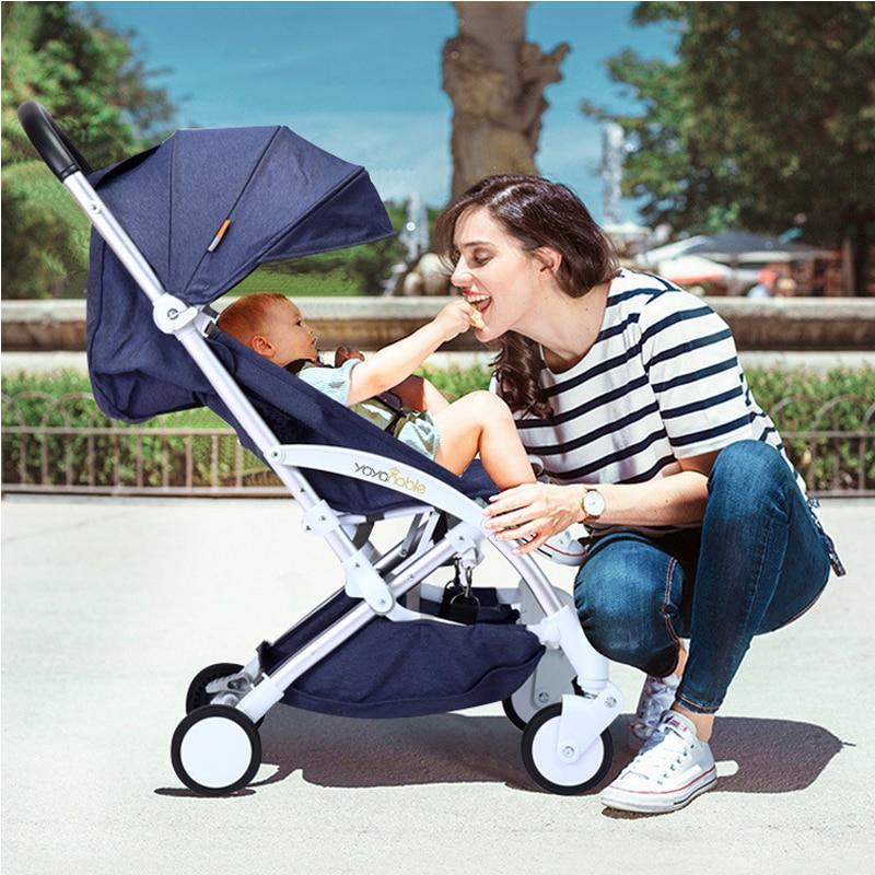 2019 nouveau chariot automatique léger, léger pliant, assis et inclinable, pliage automatique, 0-5 ans chariot de bébé - 2