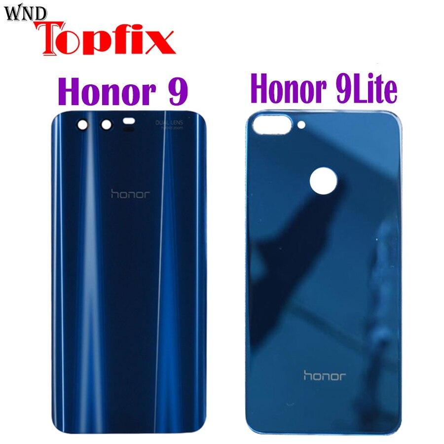 Original Huawei Honor 9 Back Battery Cover Door Rear Glass Housing Case 5.15