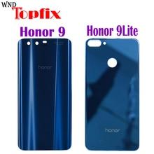 huawei honor 9, задняя крышка для батареи, крышка для двери, заднее стекло, корпус, чехол, 5,15 дюймов, huawei honor 9 Lite, крышка для батареи, honor 9, корпус