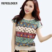 Plus Size 4XL 2015 Short Sleeve T Shirt Women Poleras De Camisetas Mujer Tshirt Vetement Femme