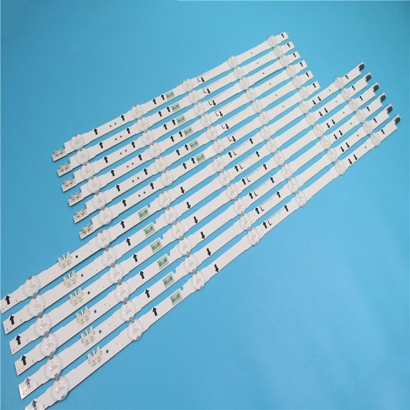 New 12 PCS/set LED Strip For D4GE-550DCA-R3 D4GE-550DCB-R3 UA55J5088A BN96-30432A BN96-30431A BN96-30430A BN96-30429A