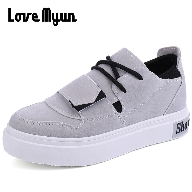 2018 spring new fashion women sneakers shoes flats casual student lovely glirs shoes Breathable lace up sneakers XB-49