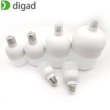 digad LED Bulb Lamps E27  220V Light Smart IC Real Power 6W 12W 18W 24W 36W 50W High Brightness Lampada Bombilla