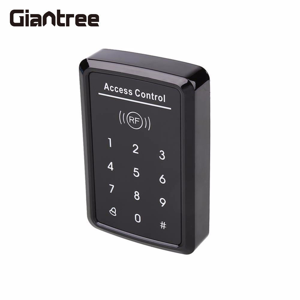 Giantree Electric Magnetic Access Control Card Reader Doors Lock Entry Security Password for Mifare one card/ EM Cards keypad