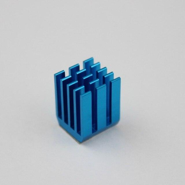 10 шт. Алюминий Мини IC Чипсет охлаждения Cooler теплоотвода радиаторы 9x9x12 мм