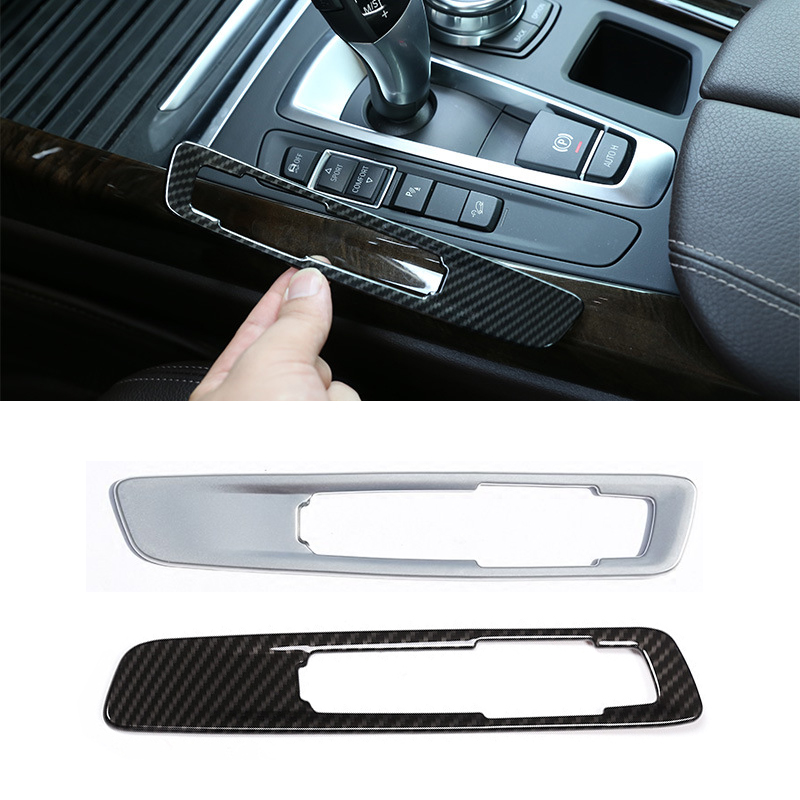 Matte Gear store content box decorative Cover Trim Stainless For BMW X6 F16 2015