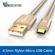 Micro USB кабель, tiegem быстрой зарядки мобильного телефона USB Зарядное устройство кабель 1/2/3 м кабель синхронизации данных для Samsung HTC LG Android