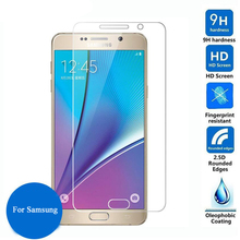 9H Tempered Glass For Samsung Galaxy J5 2016 J3 A3 A5 J1 Mini S6 S5 S4 S3 Mini Note 5 4 3 2015 2016 Screen Protector Glass Films