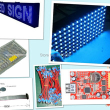 free shipping DIY LED moving sign Electronic kits with 20pcs