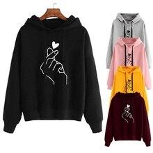 Fashion Women's Hoodie Loose Casual Hoodies sweatsh