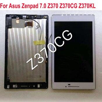 El mejor Sensor de trabajo LCD pantalla táctil Panel digitalizador montaje con marco para Asus Zenpad 7,0 Z370 Z370CG Z370KL