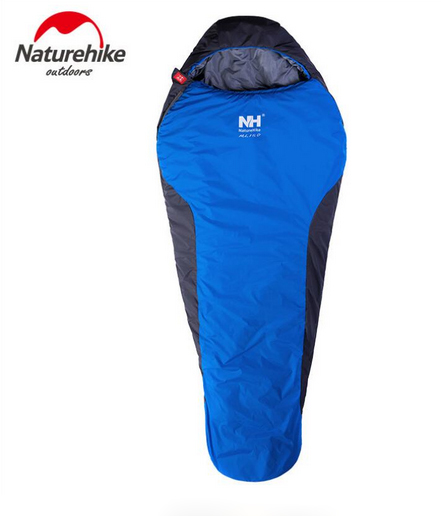 Naturehike Ultralight Mummy Sleeping Bag Outside Hiking Camping Winter Warm   Sleeping Bags 1.1kg NH15S013-D naturehike waterproof mummy camping sleeping bag cutton lining winter outdoor ultralight warmth camping sleeping bag nh15s013 d