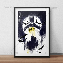 5D Diy Diamond Painting Square Mosaic Batman Pictures Of Rhinestones Cross Stitch Home Decor Embroidery Icons