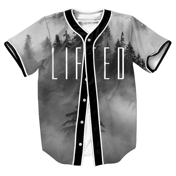 Too Lifted Jersey OVERSHIRT BASEBALL SHIRTS TOPS SWEAT SHIRT MEN'S CLOTHING WITH BUTTONS HIP HOP SUMMER STYLE 3D PRINT