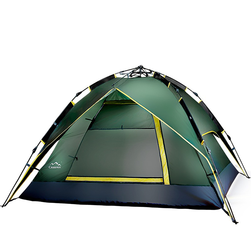 Automatic Tent 1-2 person Tent Folding Bed Outdoor Waterproof Fishing Hiking Awning Travel Tent Camping Tent outdoor waterproof folding ultralight camping tent 1 2 person double door fishing tourist tent beach tent hiking family tent
