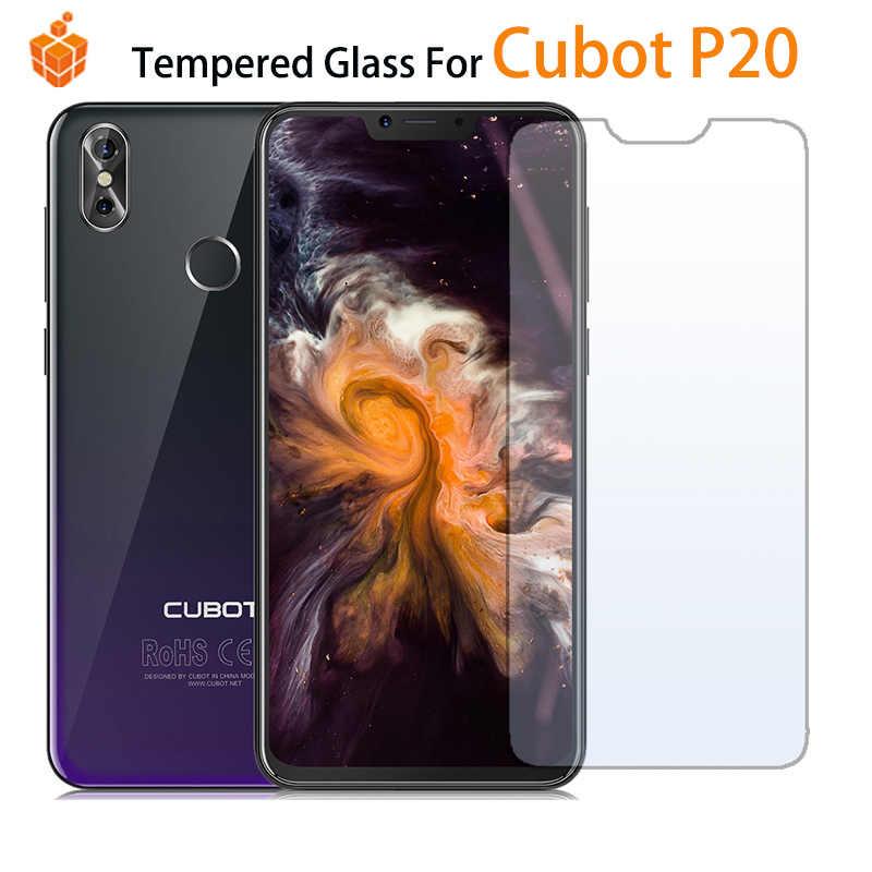 9H 2.5D verre trempé pour Cubot P20 Anti-éblouissement Blue-ray protecteur d'écran pour Cubot P20 6.18 pouces intimité verre film de protection