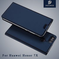 Dux Ducis Cover Huawei Honor 7X Cases Wallet Leather Cover Huawei Honor 7x Flip Stand Leather