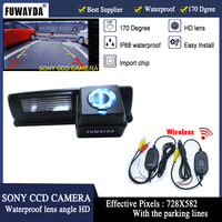 FUWAYDA FreeShipping Wireless SONY CCD Chip Car Rear View Reverse CAMERA for LEXUS IS200/IS300 RX350/330/300 ES330 HS250H RX400H