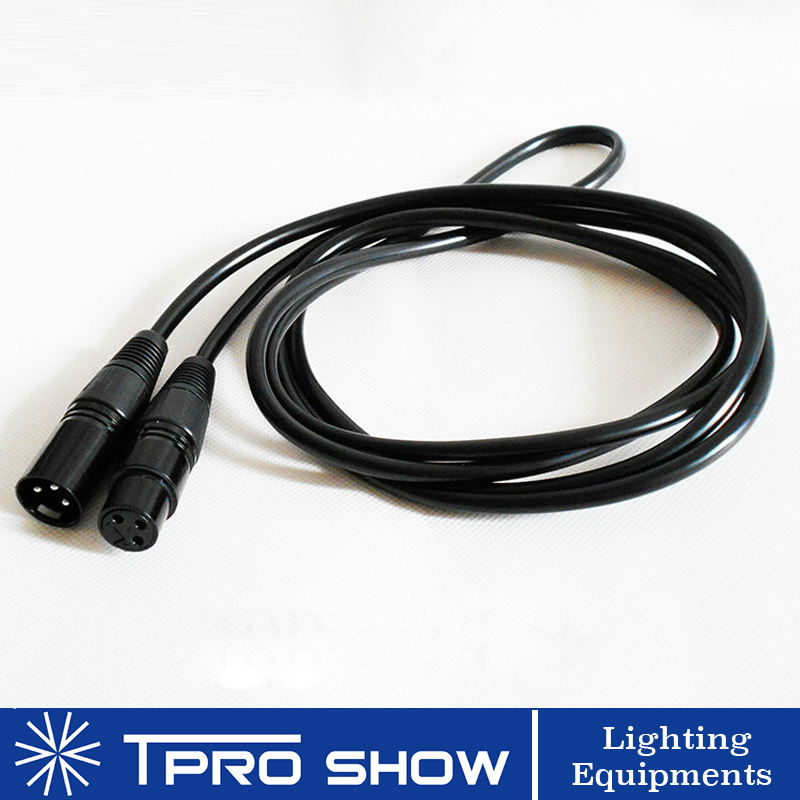 DMX Cable Xlr 3pin Connector Dmx 512 Signal For Dmx Wireless Controller Dj Light LED Laser Moving Head Smoke Machine 1- 15Meter