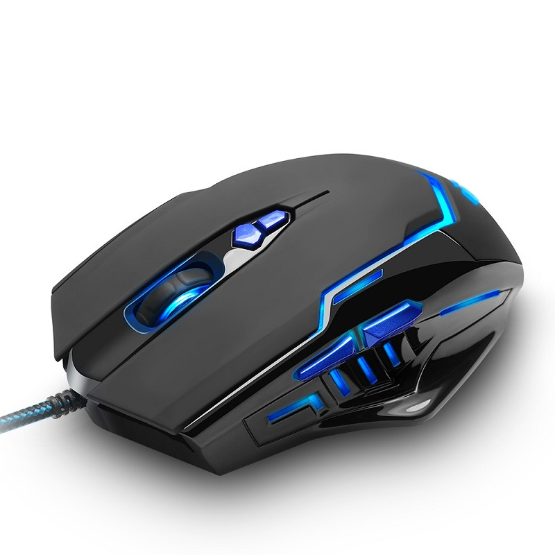b216b914405 Rocketek high quality USB Gaming Mouse 3200 DPI 7 buttons ergonomic design  for desktop computer accessories