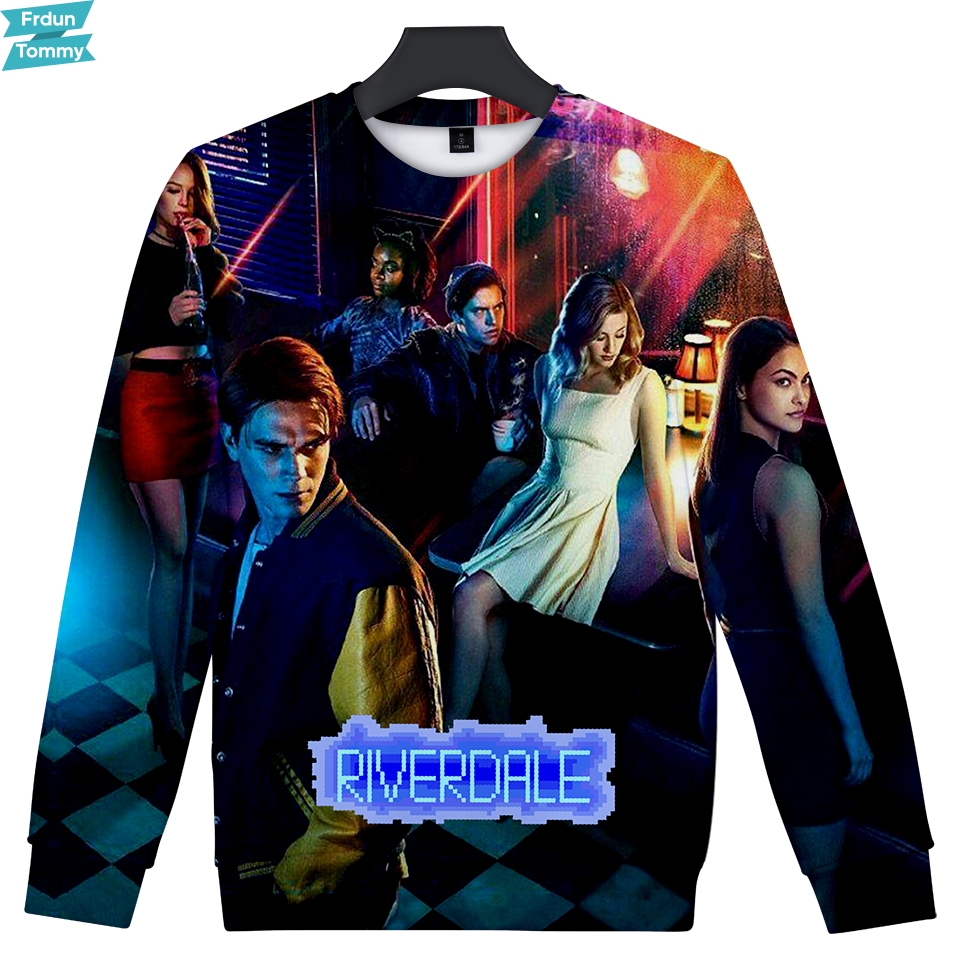 Men's Clothing Useful Riverdale New Sweatshirts Fashion Series 3d Print Hoodies Black Male Men/women Cool Hip Hop Hoodie Plus Size Xxs-4xl Ideal Gift For All Occasions