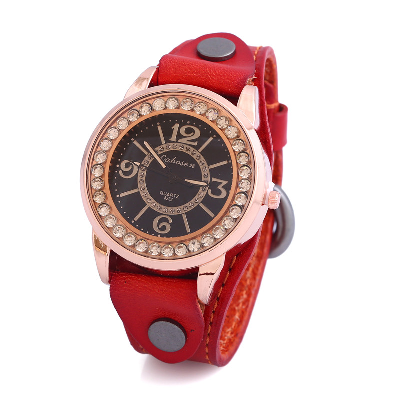K'S Gadgets Vintage Leather Strap Watch High Quality Women Leather Wrist Watch Casual Ladies Quartz Watch Ladies Wrist Watches high quality classic dalas brand leather silver steel strap watches women dress watch ladies quartz watch