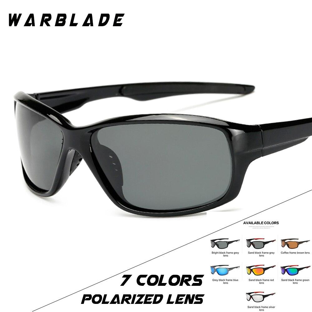 97b6f2fdb8d WARBLADE Gradient Frame Sunglasses Polarized Men Driving Sports Women  Glasses Oculos De Sol green red blue Color Lens 1009