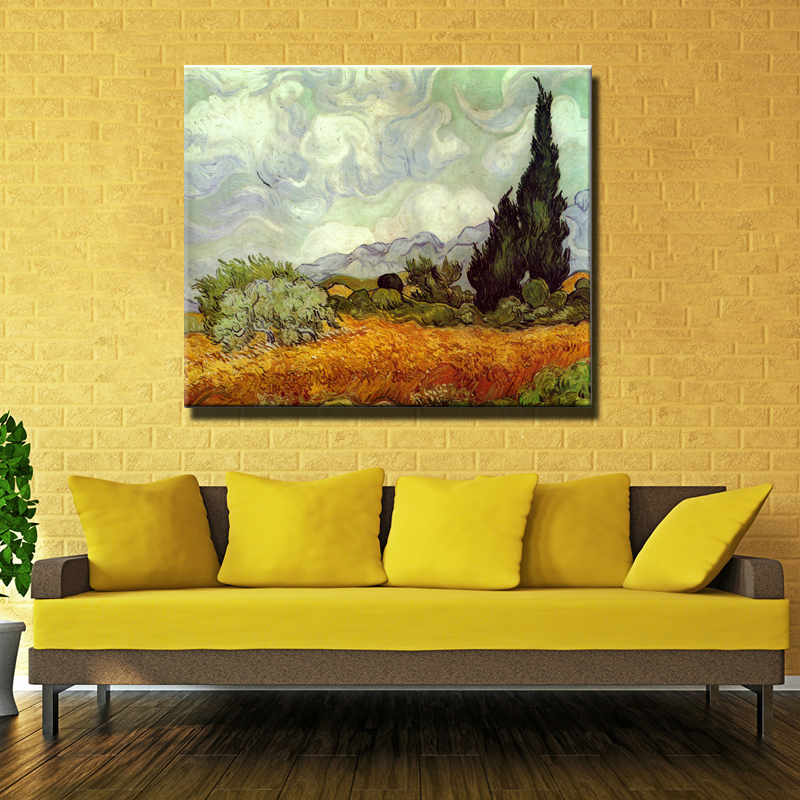 VAN GOGH S BEDROOM AT ARLES  1889 Giclee poster By vincent Van Gogh print  Wall oilPopular Van Gogh Bedroom Painting Buy Cheap Van Gogh Bedroom  . The Bedroom Van Gogh Painting. Home Design Ideas