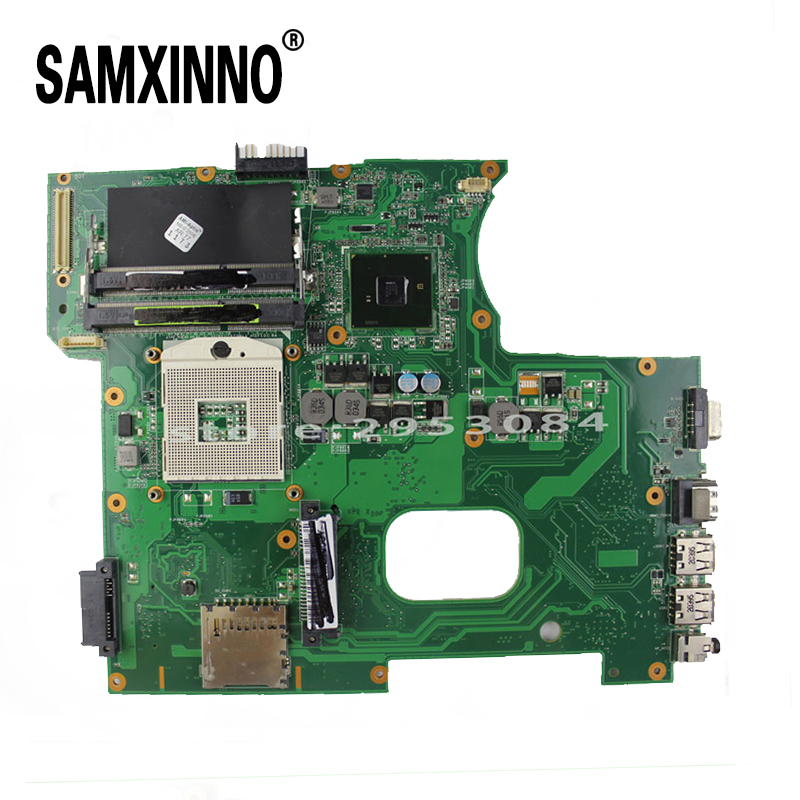 For Asus K42F Notebook Motherboard with Rev 3.2 GMA HD HM55 PGA989 DDR3 VRAM Main Board 100% tested& free shipping for asus u36jc motherboard with i3 380m 390m processor gt310m with 1gb ddr3 vram 100