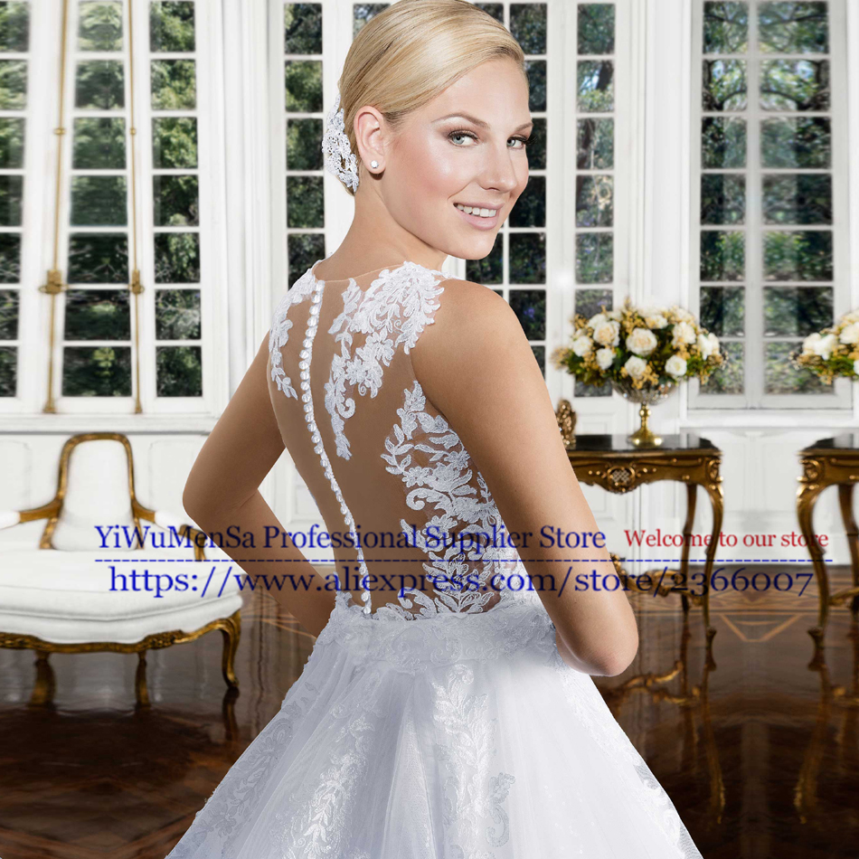 Vestido De Noiva 2017 China Bridal Gowns Vintage Lace appliques Sleeveless font b Hijab b font