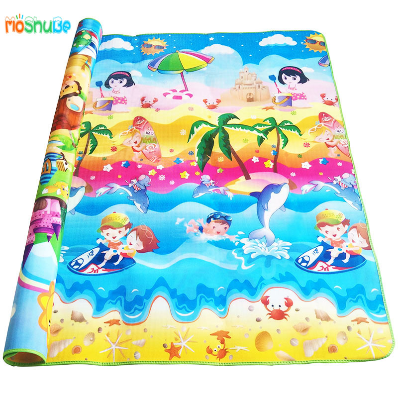 cm Baby Crawling Gym Play Mat Children Puzzle Carpet Kid Toy Developing Gym