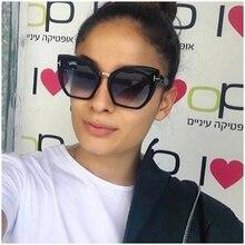 Новый супер мило Cateyes Женщины Солнцезащитные очки пляжные женские дизайнерские летние винтажные Ретро очки Мода gafas-де-сол