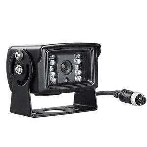 600TVL 4 PIN ПЗС-камера заднего вида Бесплатная доставка Водонепроницаемая камера ночного видения ИК обратная резервная камера автобуса грузов...